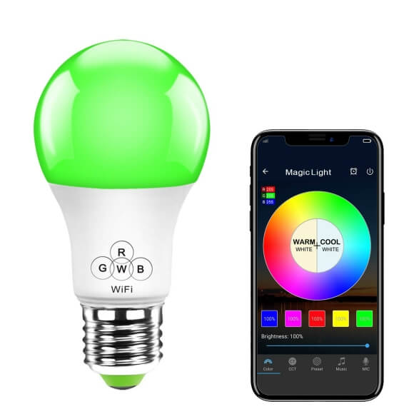 Smart LED Wifi Bulbs